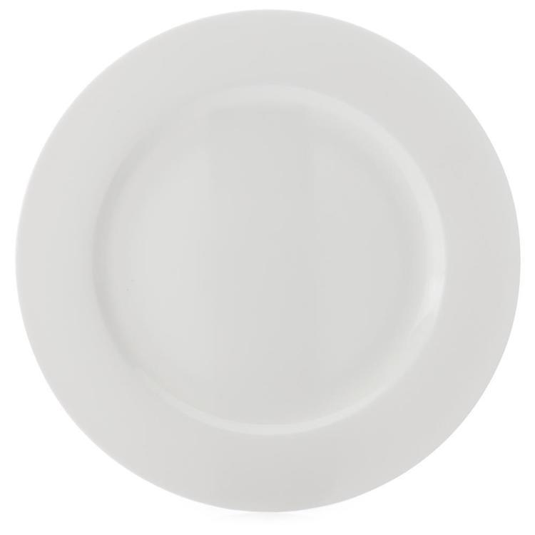 Casa Domani Pearlesque Rim Entree Plate