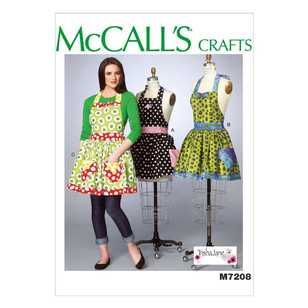 McCall's Pattern M7208 Misses' Aprons & Petticoat