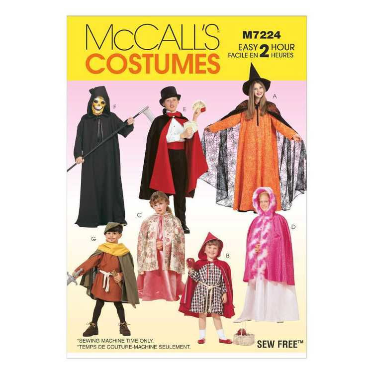 McCall's Pattern M7224 Kids