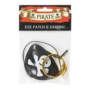 Party Additions Pirate Eye Patch & Earring