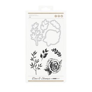 Kaisercraft Rose Decorative Dies & Stamps