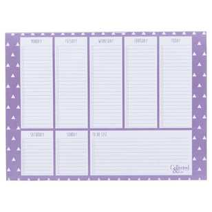 Collected & Co A4 Aztec Weekly Planner Pad