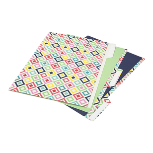 Diamond Manilla Folders With Tabs