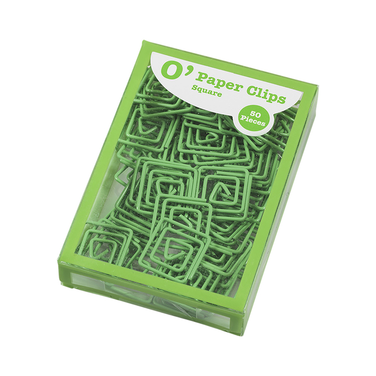 OfficeMax Square Paper Clips