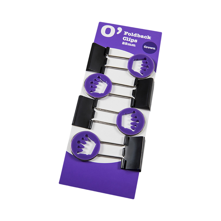 OfficeMax Crown Fold Back Clip