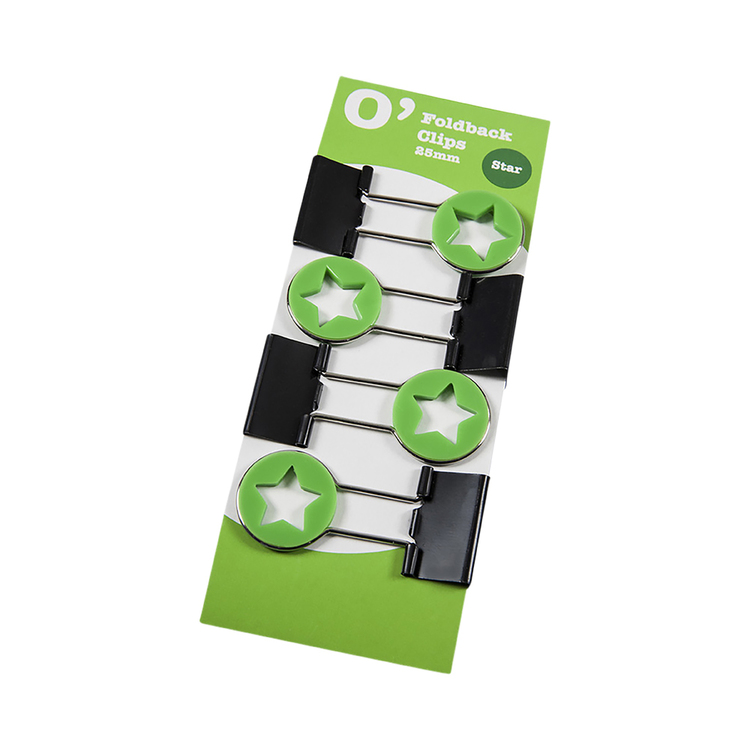 OfficeMax Star Fold Back Clip