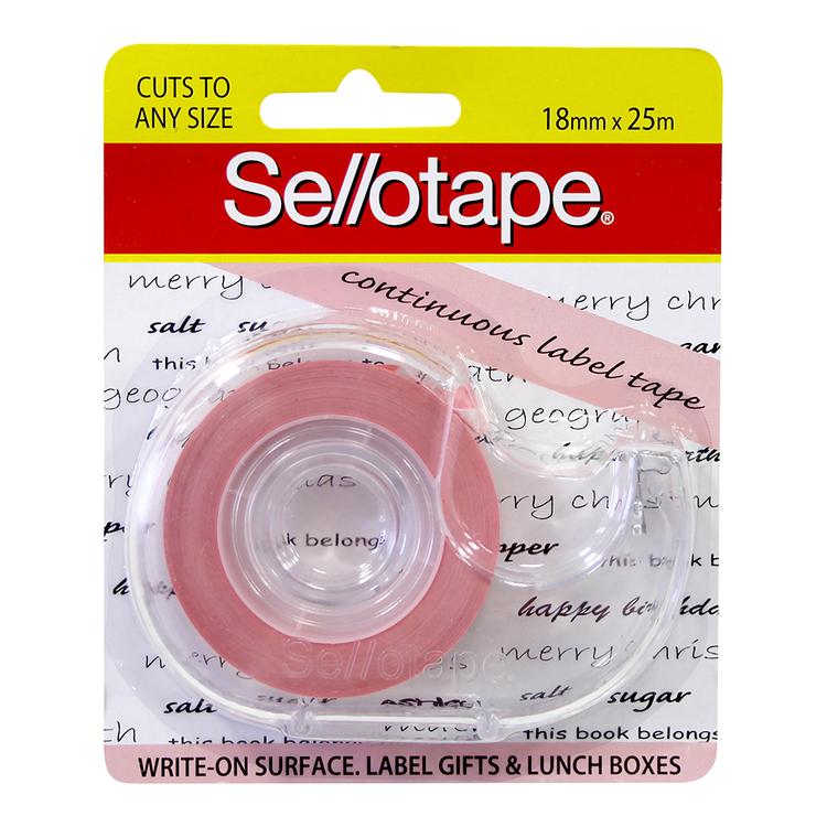 Sellotape Continuous Label Tape Dispenser