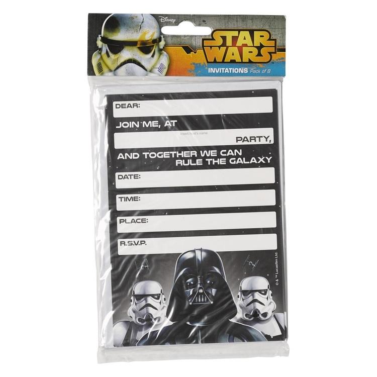 Star Wars Classic Invites