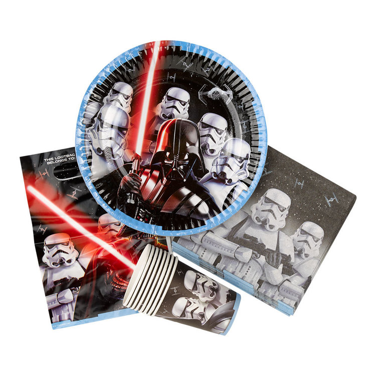 Star Wars Classic Party Pack Multicoloured