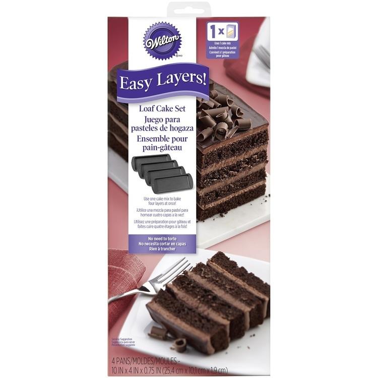Wilton Easy Layer Loaf Cake Pan Set