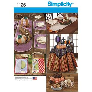 Simplicity 1126 Table Accessories
