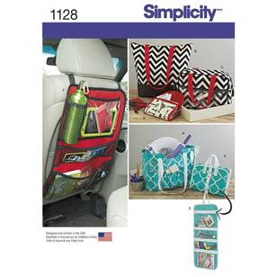 Simplicity Pattern 1128 Totes & Organizers