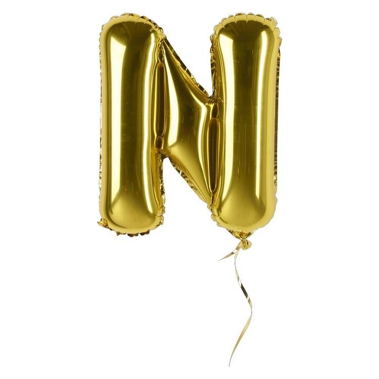 Artwrap Miniloon Letter N Foil Balloon