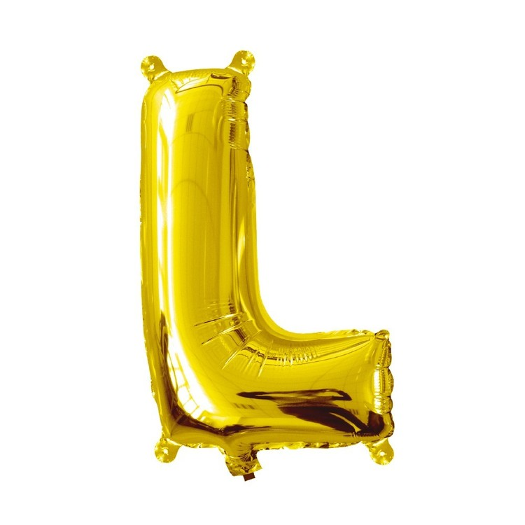 Artwrap Miniloon Letter L Foil Balloon