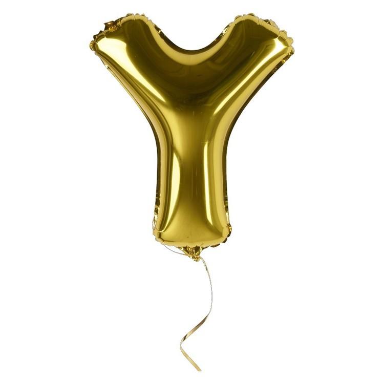 Artwrap Miniloon Letter Y Foil Balloon