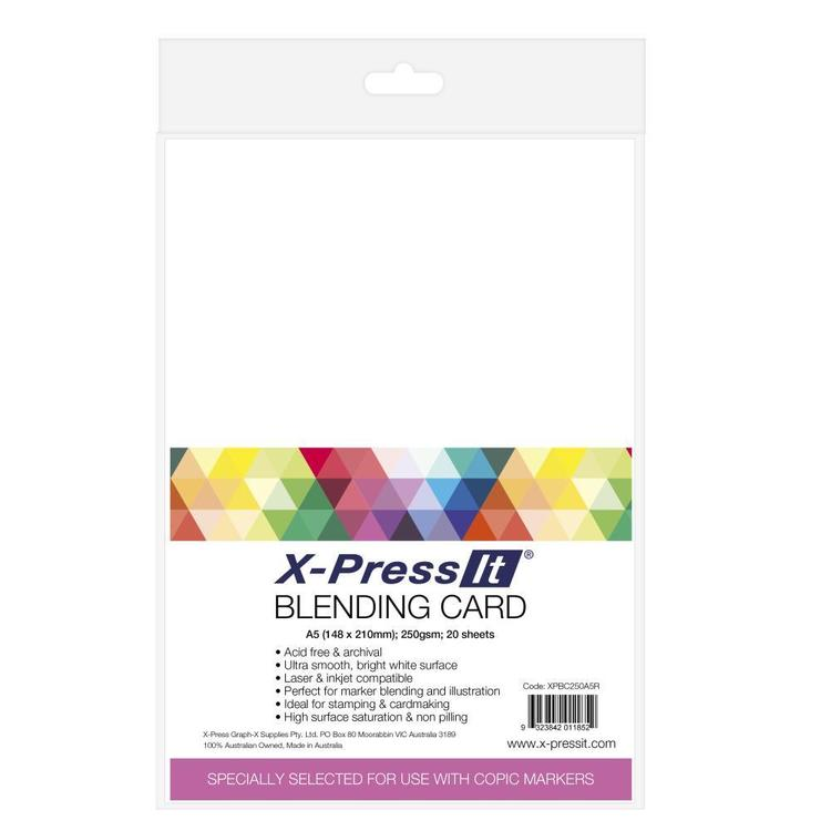 X-Press It Blending A5 Card