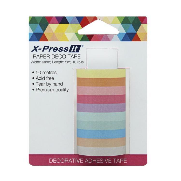 X-Press It 5 m Paper Deco Tape