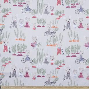 Garden Mice Tripe Weave Eyelet Magic Drape