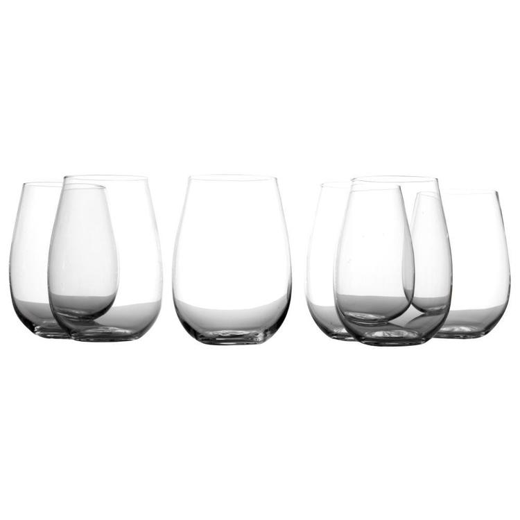 Casa Domani Evolve Stemless Glass Set
