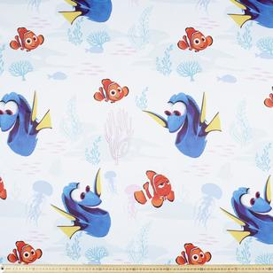 Finding Dory Swimming Uncoated Fabric
