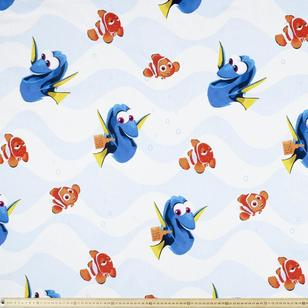 Finding Dory Forgetful Triple Weave Fabric