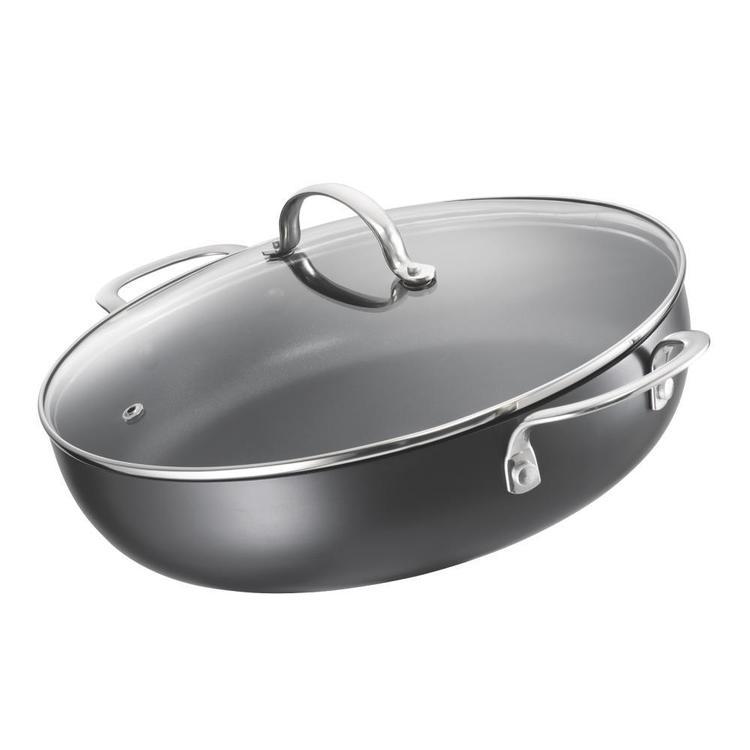 Saute Hard Anodised Saute Pan