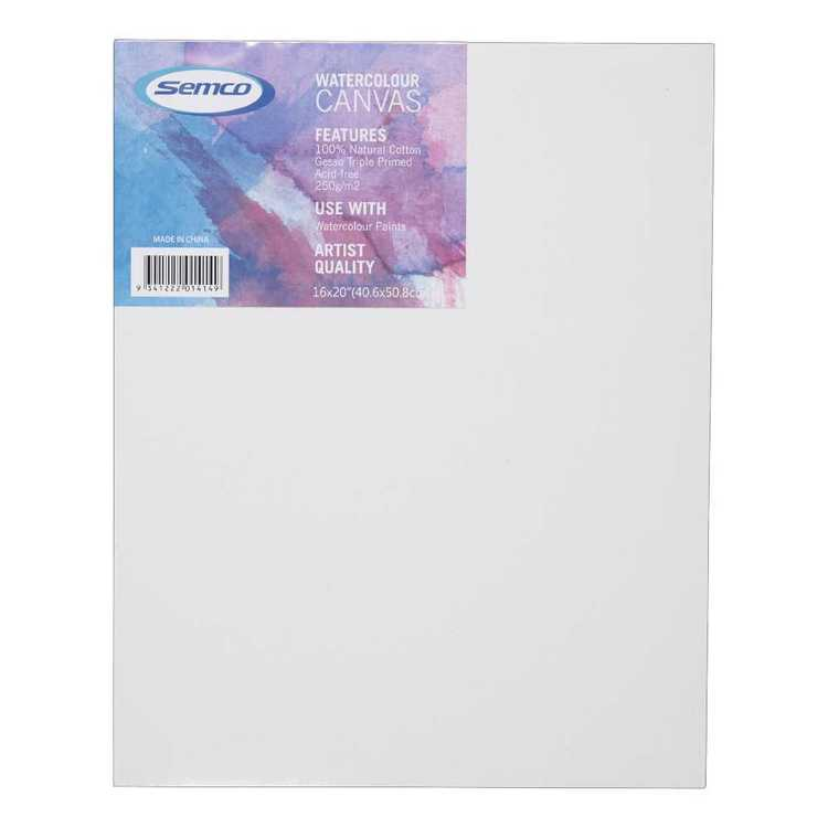 Semco Watercolour Canvas Panel
