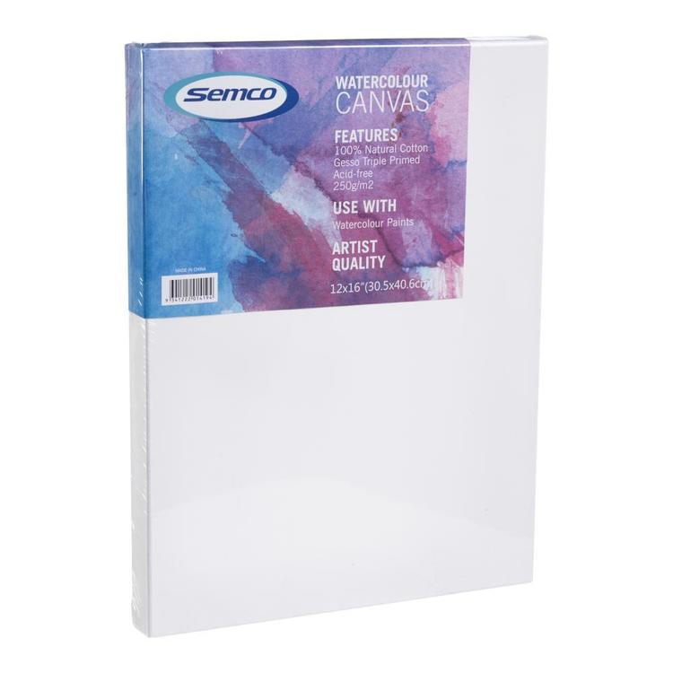 Semco Watercolour Stretched Canvas