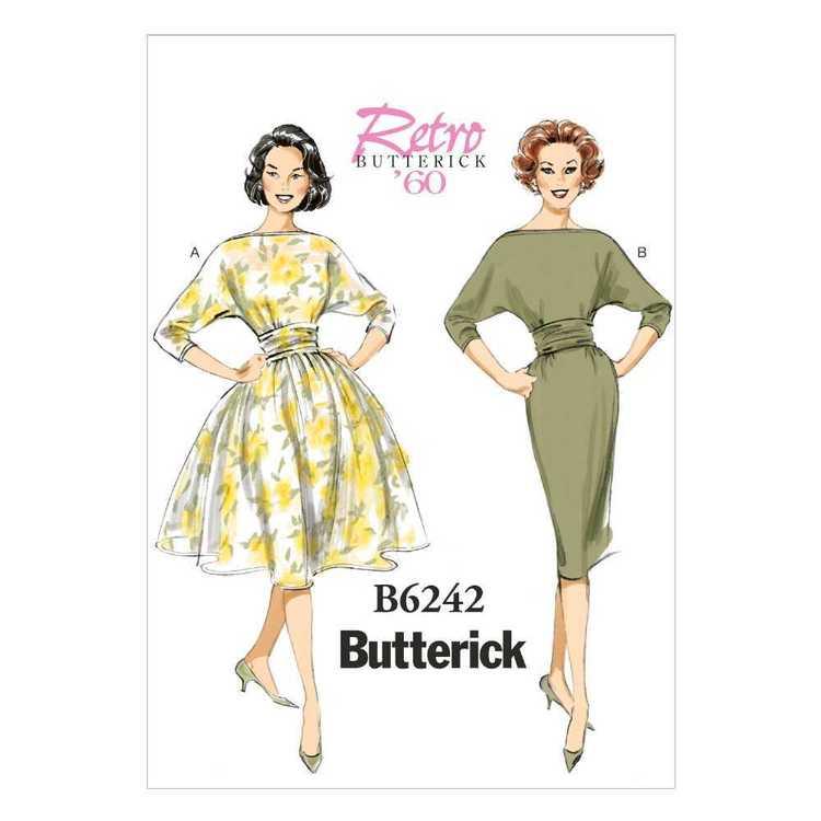 Butterick Pattern B6242 Misses' Dress