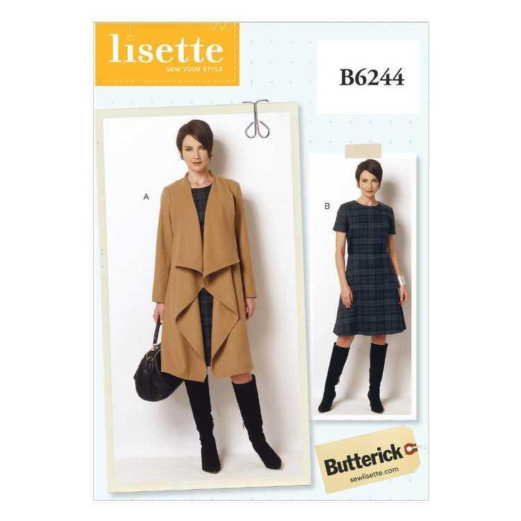 Butterick Pattern B6244 Misses' & Women's Coat & Dress