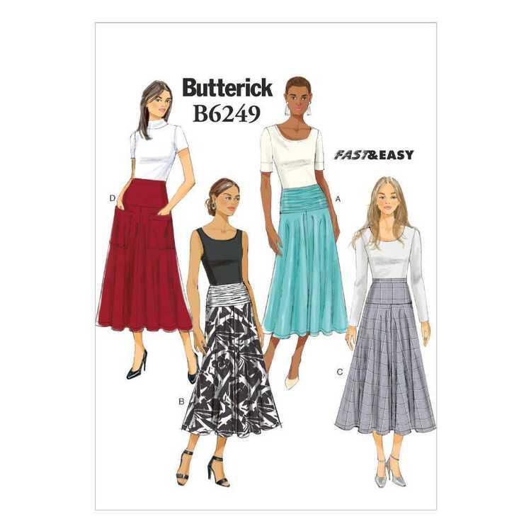 Butterick Pattern B6249 Misses' Skirt
