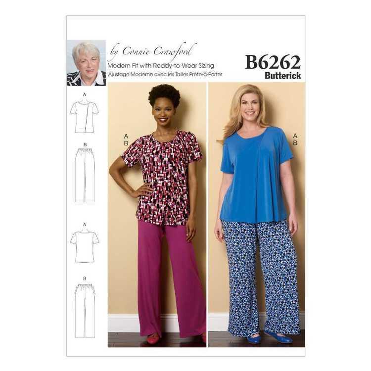 Butterick Pattern B6262 Misses' & Women's Loungewear
