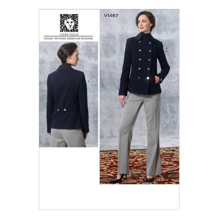 Vogue Pattern V1467 Misses' Jacket & Pants