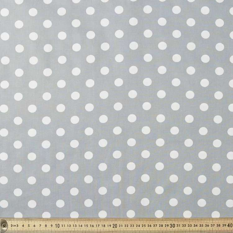 Spots & Stripes Large Spot Cotton Poplin