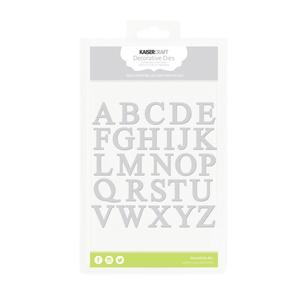 Kaisercraft Uppercase Alphabet Decorative Die