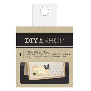 American Crafts DIY Shop Label Sticker Roll