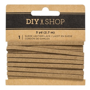 American Crafts DIY Shop Leather Lace