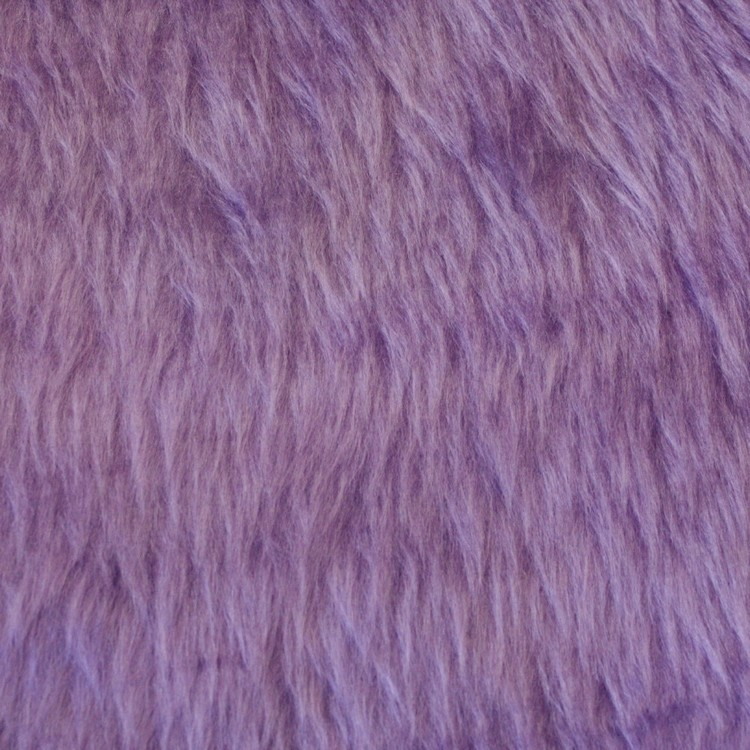Columbia K379 Faux Fur Fabric Lilac 148 cm