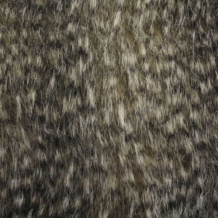 Speckled Fox J603 Faux Fur Fabric Multicoloured 148 cm