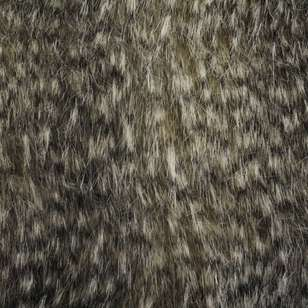 Speckled Fox J603 Faux Fur Fabric