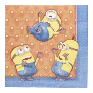Minions Lunch Napkin 20 Pack