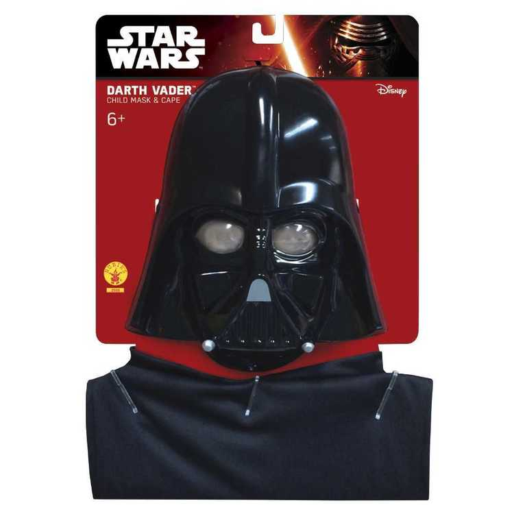 Star Wars Darth Vader Child Cape And Mask Set Multicoloured