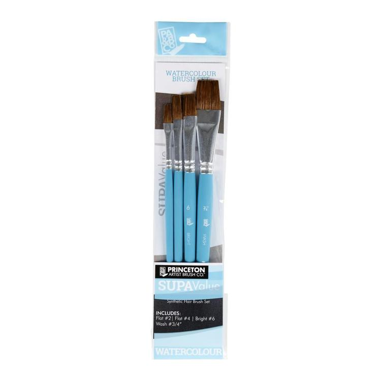 Princeton Supavalue 9449 Watercolour Brush Pack