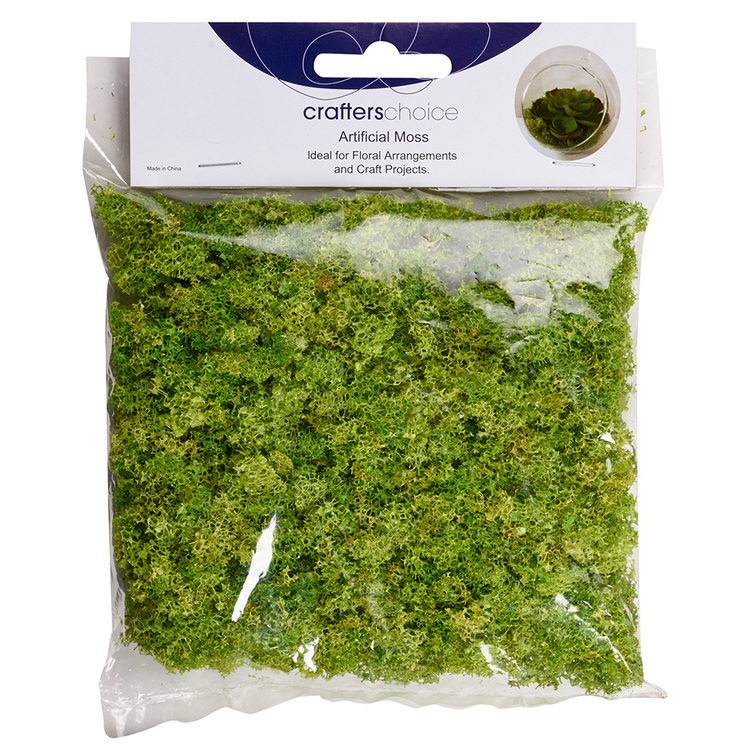 Crafters Choice Artificial Moss In Bag