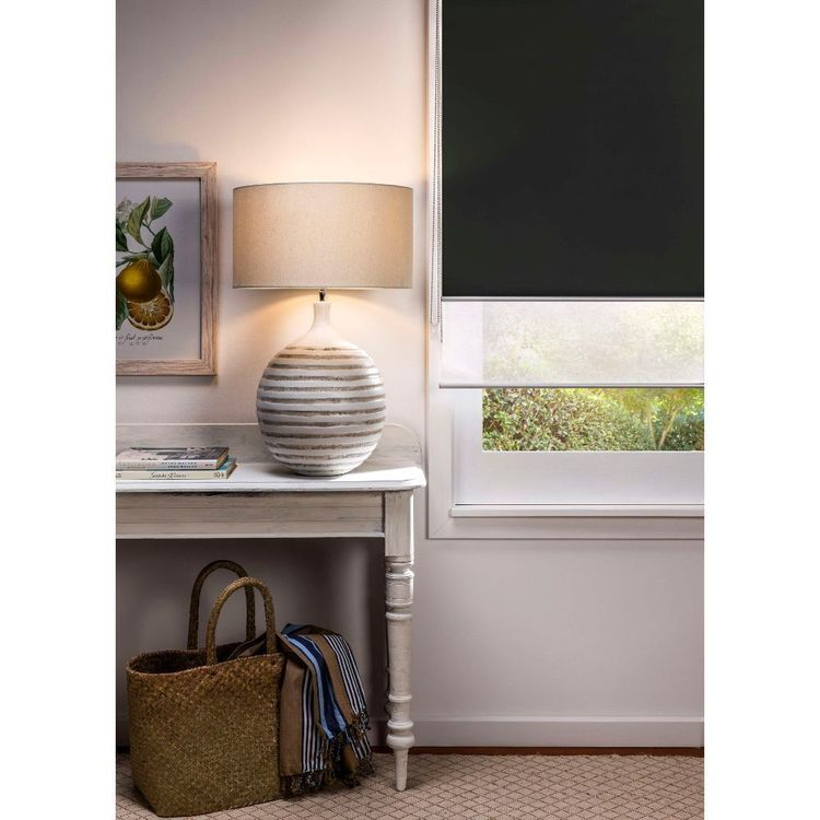 Gummerson Rylee Day/Night Roller Blind Black 270 x 240 cm