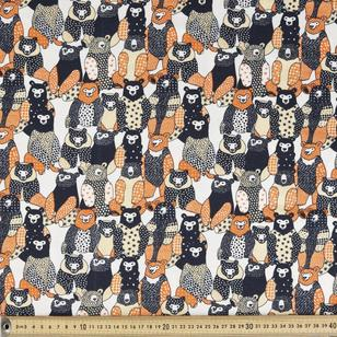 Bears Printed Combed Cotton