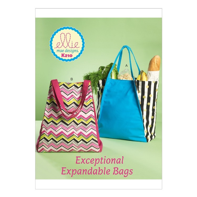 Kwik Sew Pattern K0210 Trapeze Bags