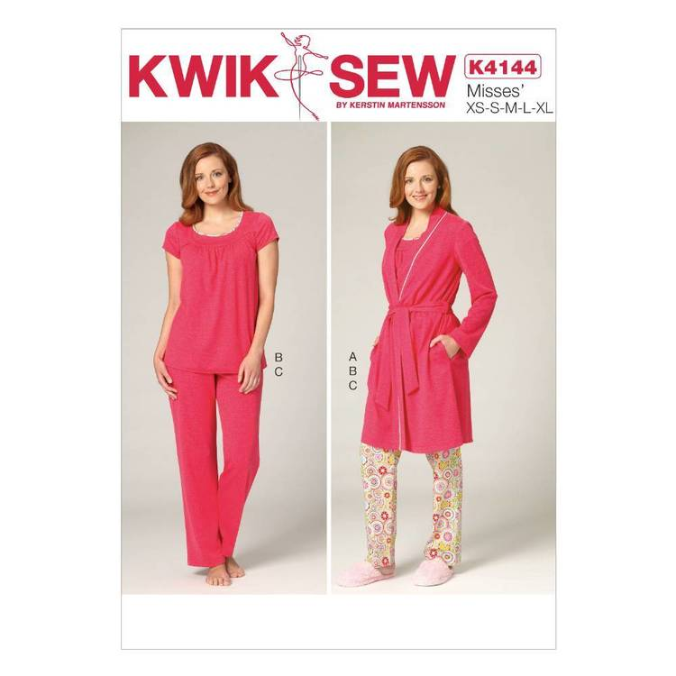 Kwik Sew Pattern K4144 Misses' Robe