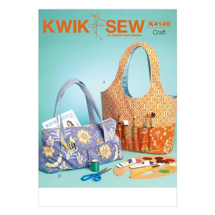 Kwik Sew Pattern K4149 Hobby Tote & Bag