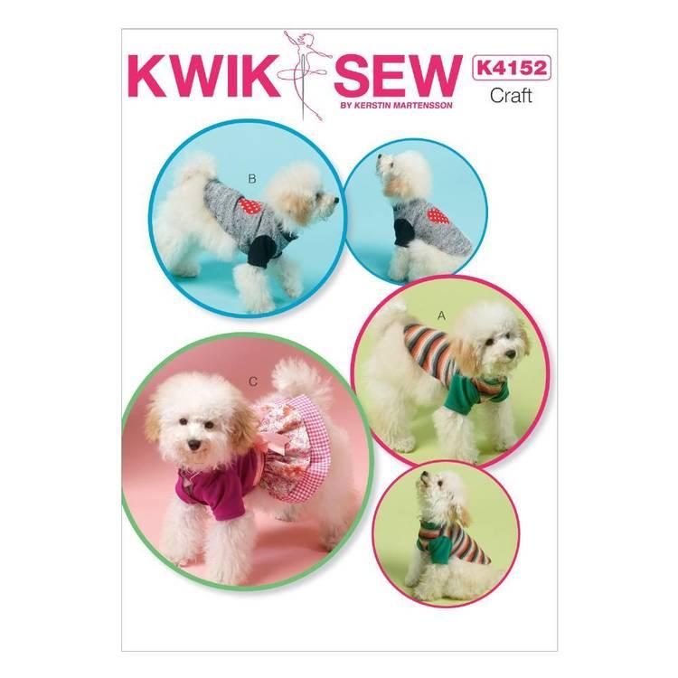 Kwik Sew Pattern K4152 Dog Clothes